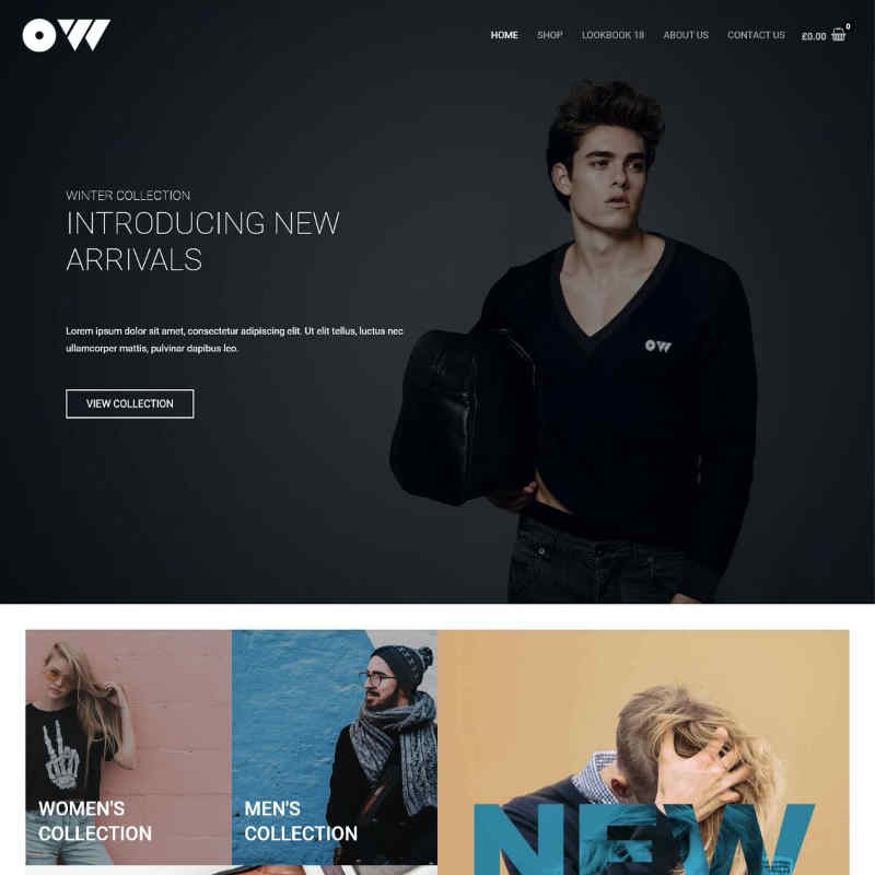 Clothing Store Website Template